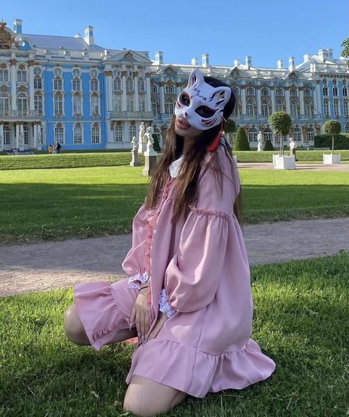 Фото №1 - Воздушное платье как у Амины Tenderlybae: тренд лета 2021