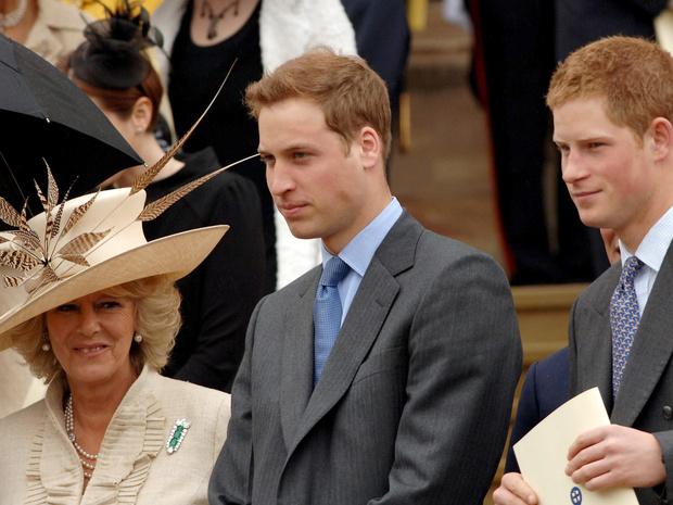 Фото №3 - Сложный момент: какой была первая встреча Камиллы и принца Уильяма