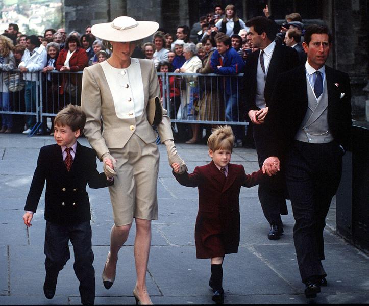 Фото №2 - Не такая уж и святая: как леди Ди издевалась над маленьким принцем Уильямом