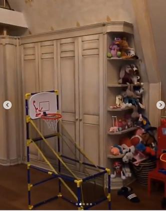 Фото №2 - Как выглядят детские комнаты звездных малышей: 20 фото