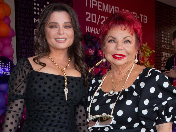 Наташа Королева с мамой, последние новости 2021, фото Людмила Порывай, признания звезд, пенсии звезд