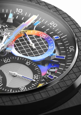 Фото №6 - Красочная новинка: Zenith выпустил яркие часы вместе с Фелипе Пантоне