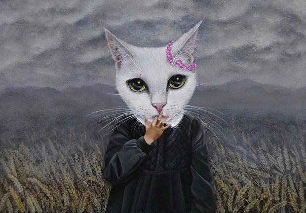 Фото №7 - Инстаграм дня: Японский художник, который рисует котиков