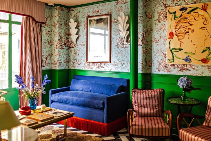 Фото №1 - Отель в Париже по дизайну Люка Эдварда Холла