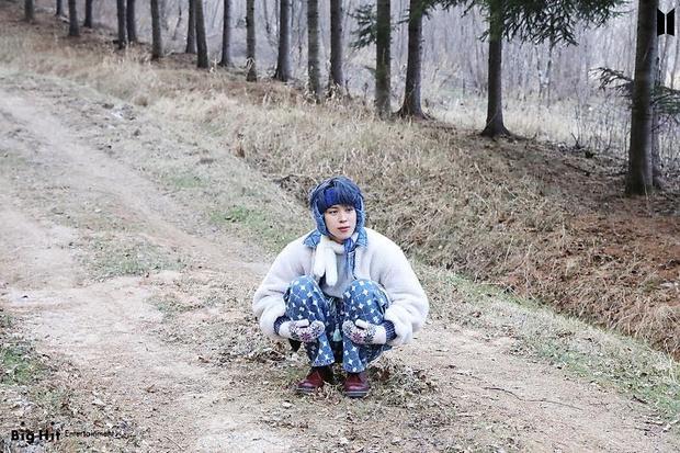 Фото №25 - Снежные ангелы: Big Hit Entertainment выложил 65 новых фото BTS 😍