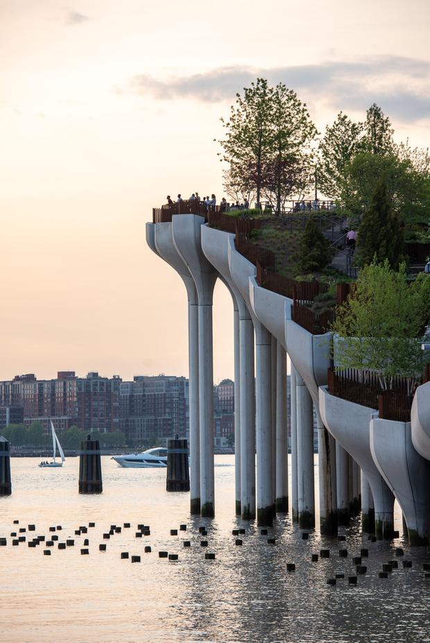 Фото №5 - Парк Little Island в Нью-Йорке по проекту Томаса Хезервика