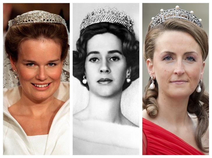 Фото №1 - Самые роскошные и дорогие тиары королевской семьи Бельгии