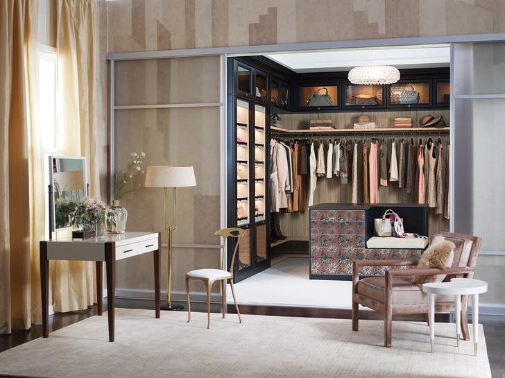 Фото №9 - Полный порядок: идеи для гардеробной мечты