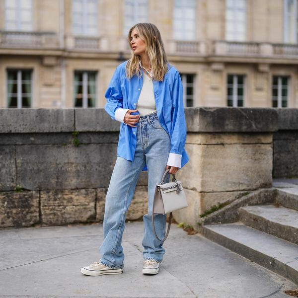 Фото №1 - Модные джинсы осень 2021: показываем самые стильные варианты