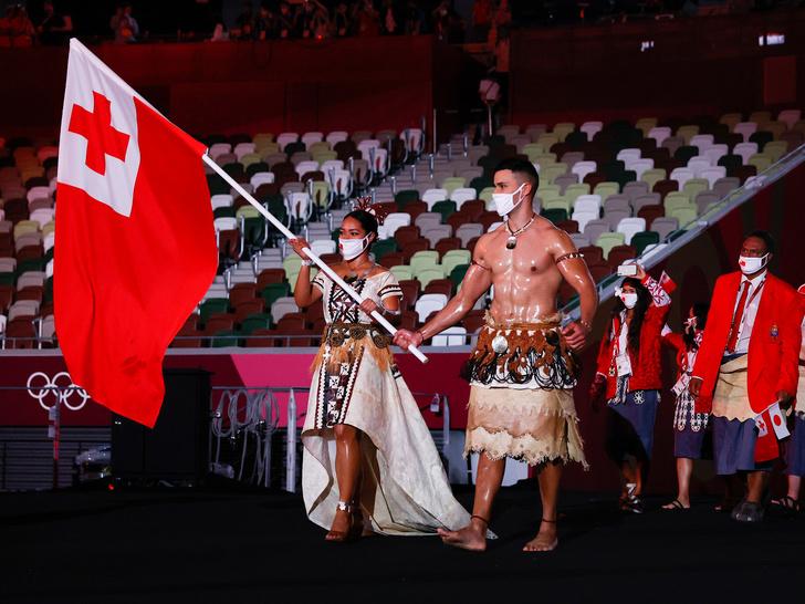 Фото №12 - Как прошло открытие Олимпиады в Токио: самые яркие кадры