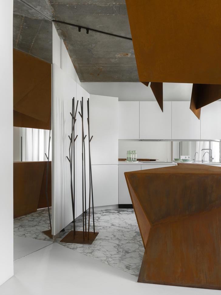 Фото №3 - Московская квартира 70 м² в духе супрематизма