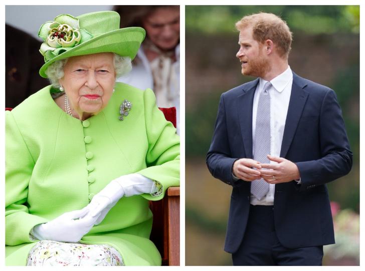 Фото №1 - Меган угрожает Королеве, а Гарри меняет внешность: 5 новых (и очень странных) слухов о Виндзорах