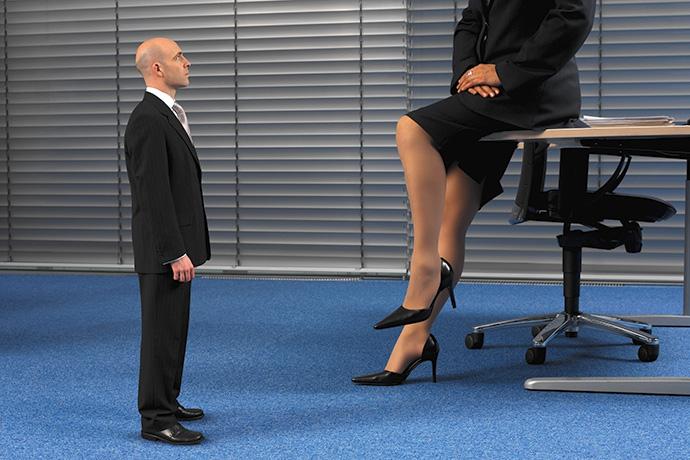 Женщины-начальницы «кастрируют» мужчин?