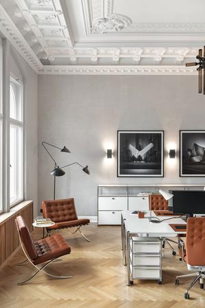 Фото №9 - Модный офис в Берлине с фресками на потолке