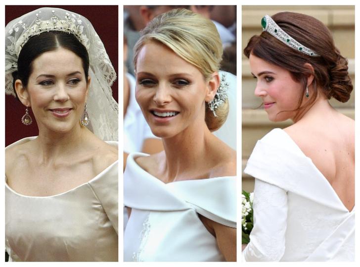 Фото №1 - От макияжа до прически: секреты красоты королевских невест