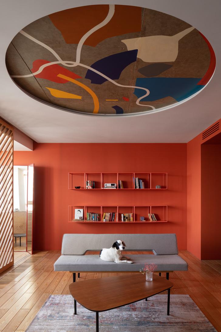 Фото №1 - Яркая квартира 70 м² для молодой пары в Москве