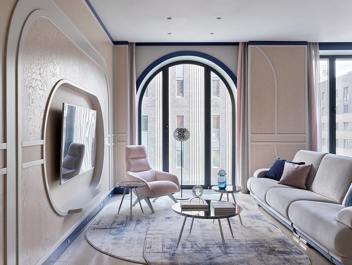 Фото №5 - Квартира 105 м² с необычным дизайном и арочными окнами на ЗилАрт