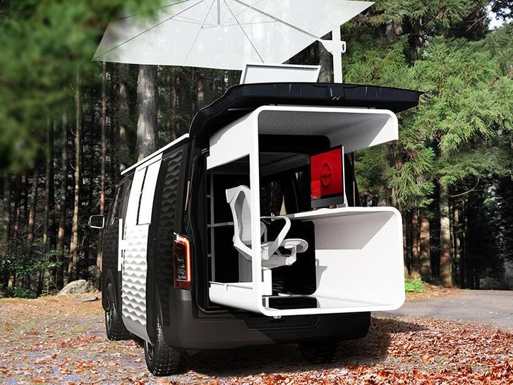 Фото №4 - Кабинет на колесах: концепт передвижного офиса Nissan