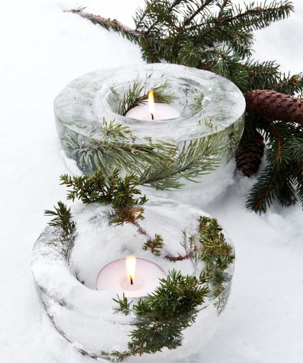 Вопросы читателей: чем украсить сад на даче зимой