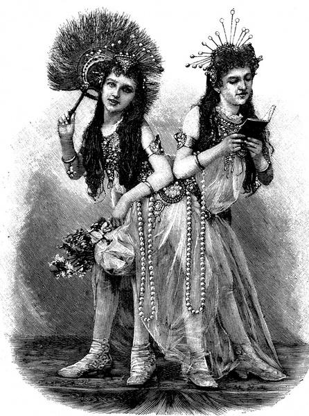 Фото №1 - Две матери одного сына: как сиамские близнецы Блажек жили, любили и родили