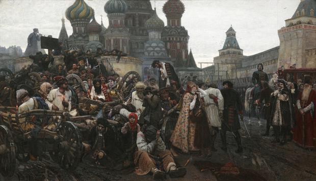 Василий Суриков. Утро стрелецкой казни