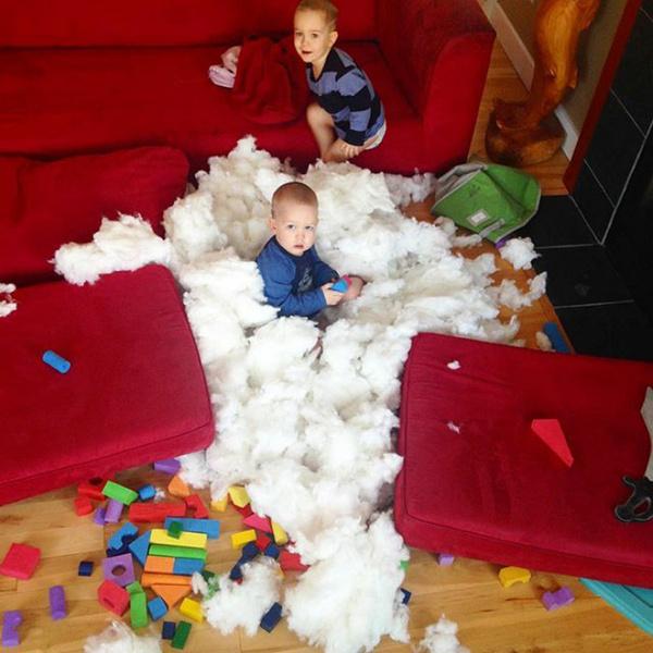 Фото №2 - Стыдно-то как: 30 смешных родительских неудач