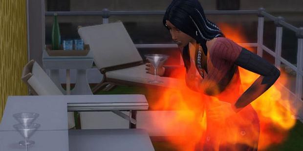 Фото №5 - Play Time: Полный гид по способам умереть в The Sims 4