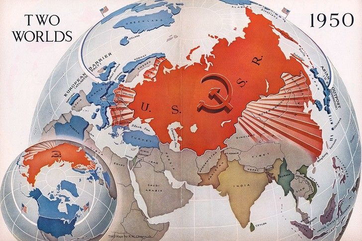 Фото №3 - 5 исторических антисоветских карт