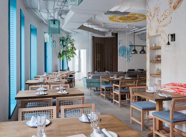 Фото №1 - Ресторан «Морская» в Москве