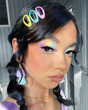 тренды макияжа весна лето 2021 фото видео как повторить