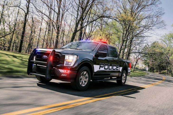 Фото №4 - 200 км/ч по бездорожью: Ford показал новый пикап для копов
