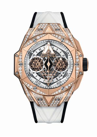 Фото №6 - Идеальная геометрия: чем примечательны новые часы Hublot Big Bang Sang Bleu II