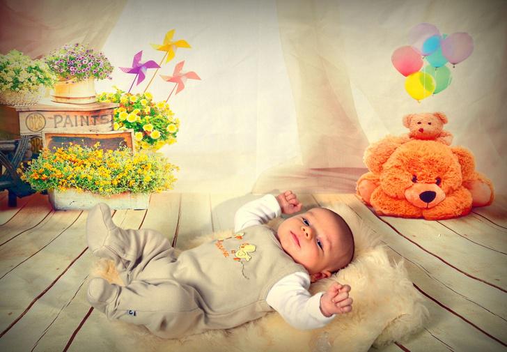 Фото №1 - Цветовосприятие: развиваем зрение малыша