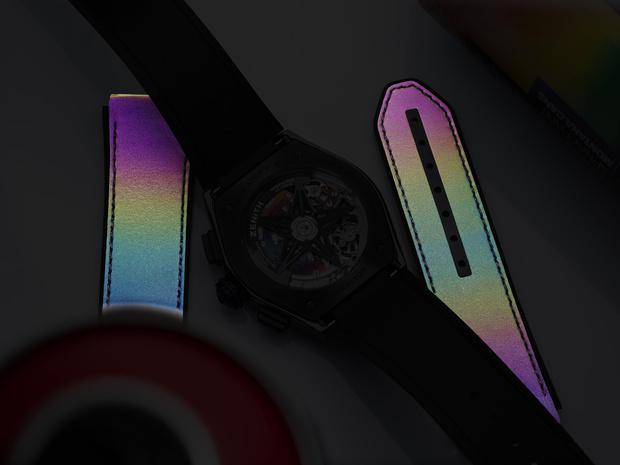 Фото №4 - Красочная новинка: Zenith выпустил яркие часы вместе с Фелипе Пантоне