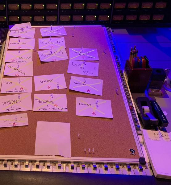 Фото №2 - Джастин Бибер раскрыл трек-лист нового альбома