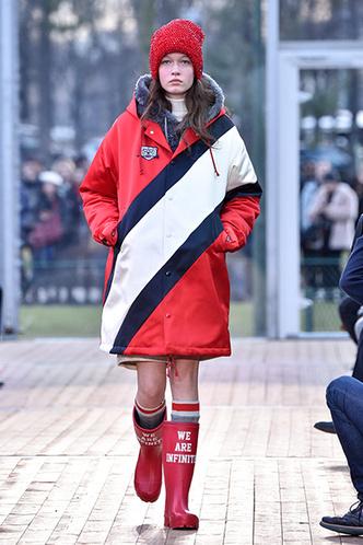 Фото №2 - Как носить резиновые сапоги и выглядеть стильно
