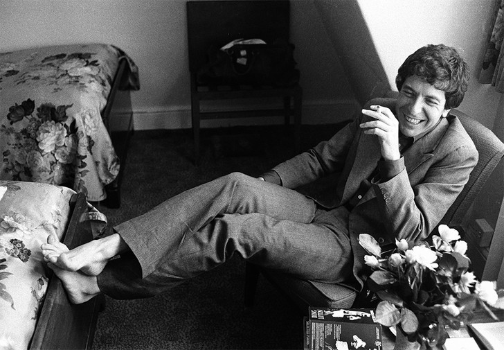 Фото №5 - 7 неожиданных фактов о Леонарде Коэне