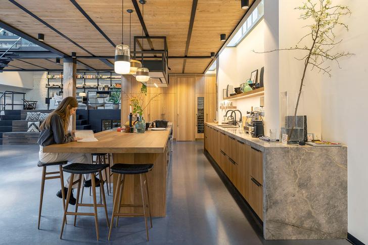 Фото №7 - Апартаменты в старом спортивном зале в Амстердаме