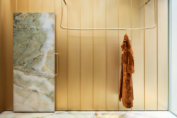 Фото №3 - Оникс и латунь: бутик Forte Forte в Риме