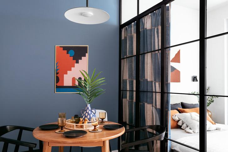 Фото №1 - Яркая квартира 30 м² для молодой пары, работающей из дома