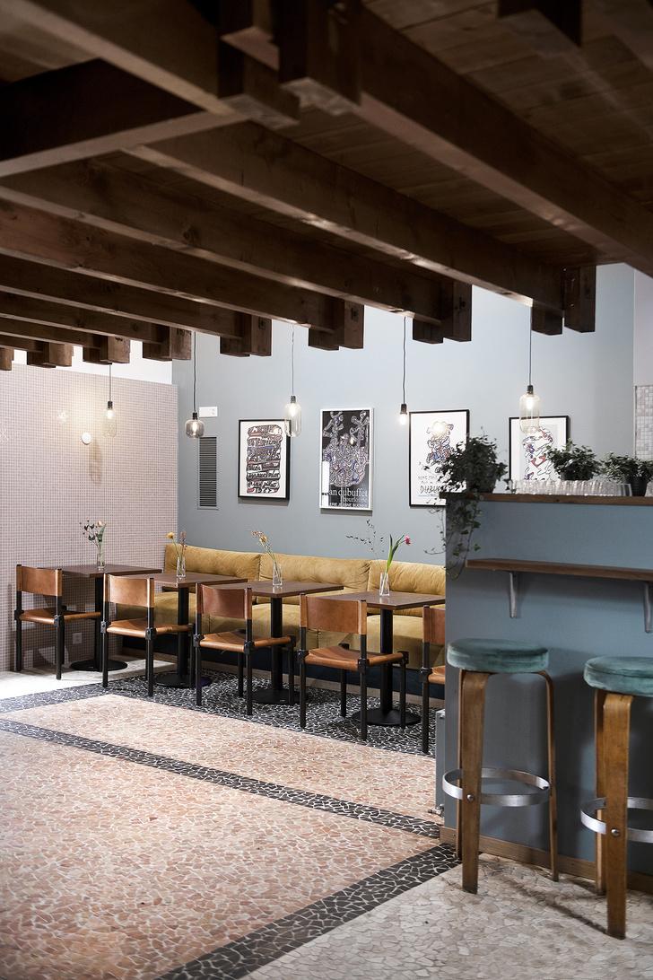 Фото №2 - Атмосферное кафе Auberge de Beaulieu в Лозанне