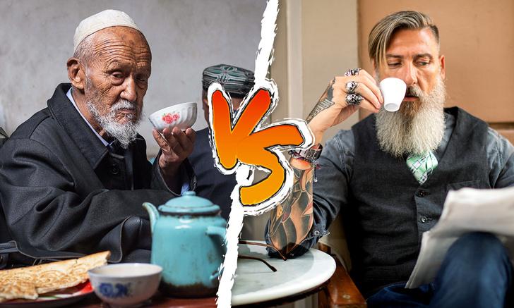 Фото №1 - Карта: что предпочитают в разных странах мира, чай или кофе?
