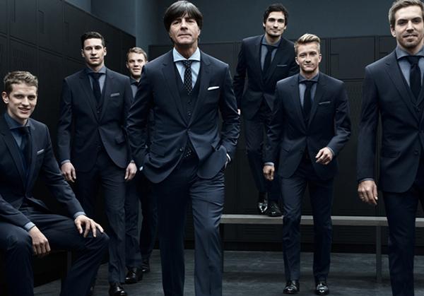 Сборная Германии в одежде от Hugo Boss