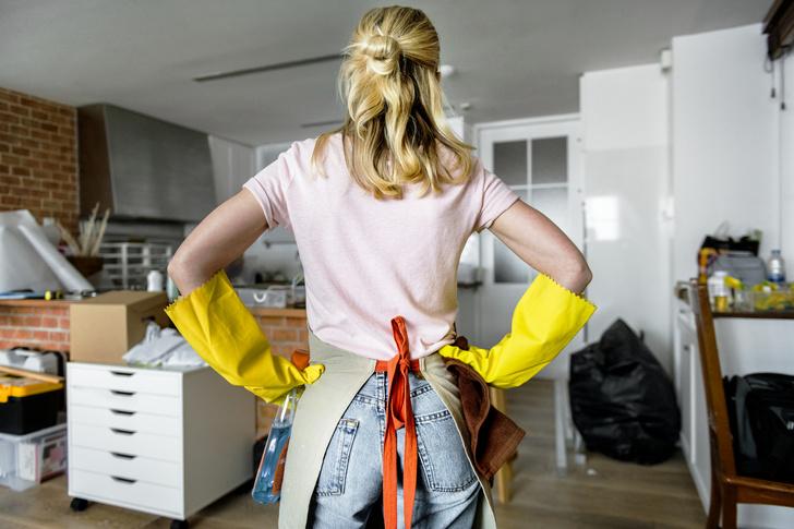 уборка дома клининг