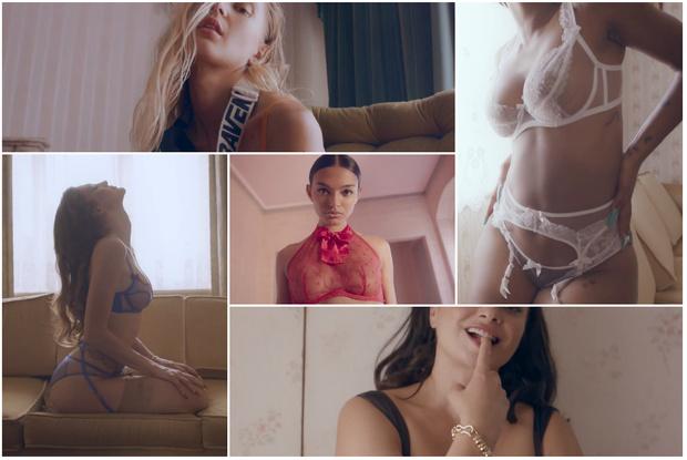 Фото №1 - Пять горячих видео пяти героинь новой рекламной кампании Agent Provocateur