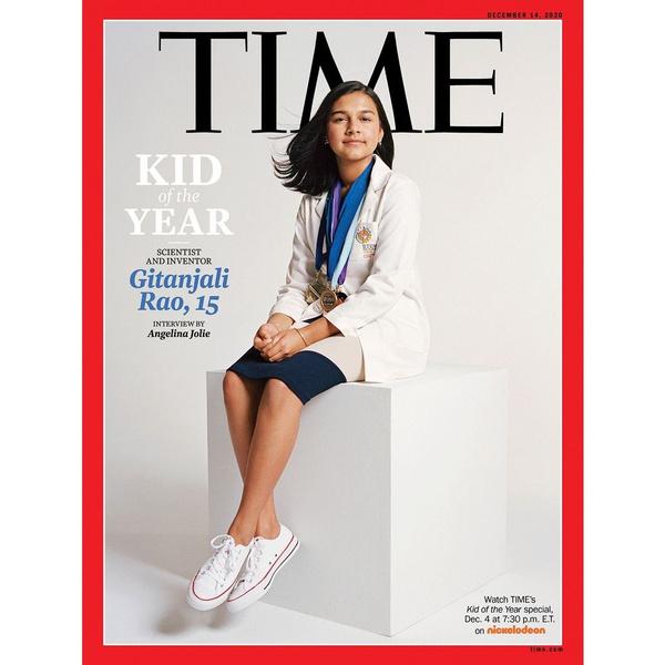 Фото №1 - Что известно о девочке, которую выбрали «Ребенком года-2020»