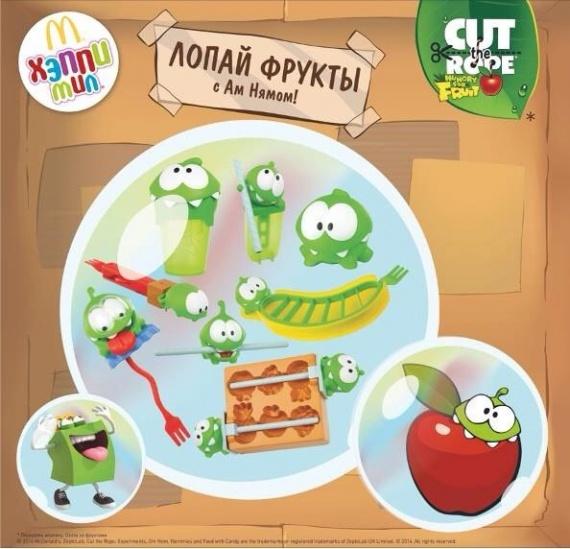 Фото №1 - Российский Макдоналдс занялся популяризацией фруктов среди маленьких посетителей