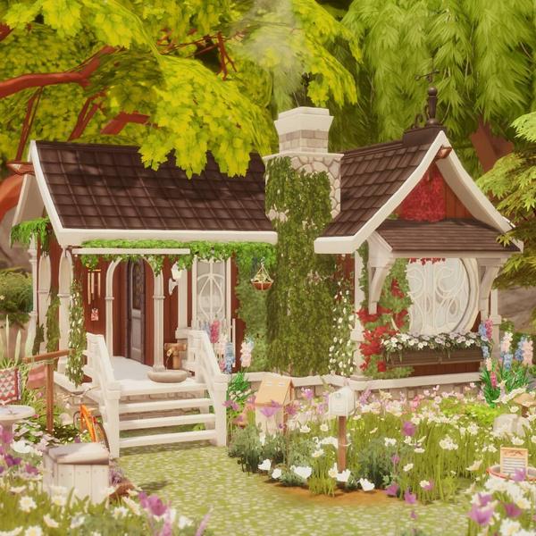 Фото №143 - 35 уютных домиков для «Симс 4», в которых ты сама захочешь поселиться