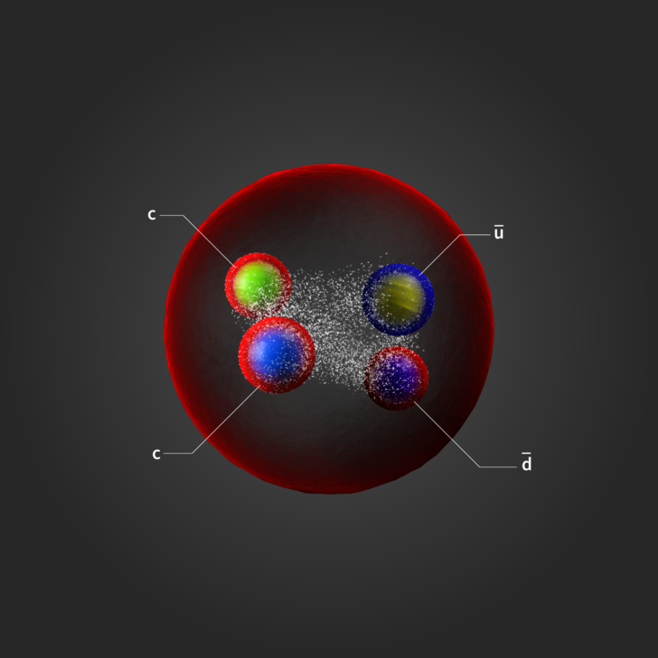 Фото №1 - На Большом адронном коллайдере открыли новую частицу