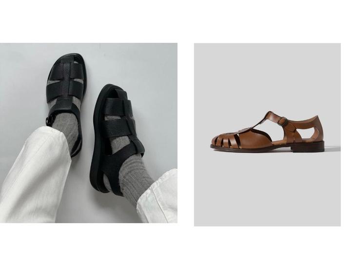 Фото №5 - Рыбацкие сандалии: с чем носить самую модную обувь лета
